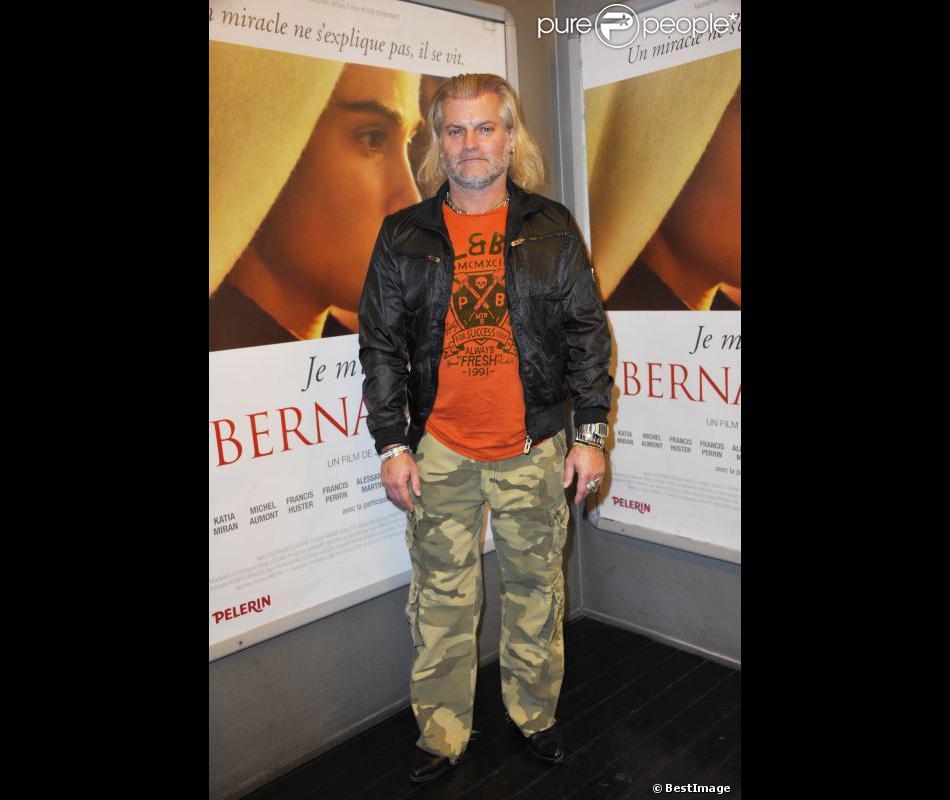Philippe Lucas pose, en novembre 2011 à Paris.