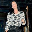 Katy Perry à New York le 13 août 2013.