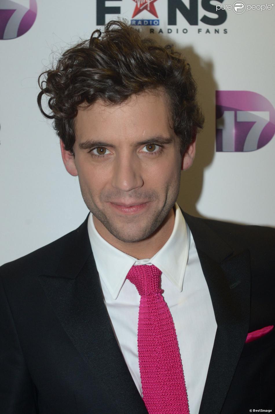 Mika lors de la soirée Virgin Radio Fans, à Paris, le 8 décembre 2012.