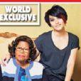 Katherine Jackson parle pour la première fois de sa petite fille Paris, dans les colonnes du magazine  Hello  en kiosques américains le 2 septembre 2013.