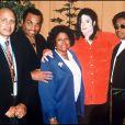 La famille Jackson à Toulouse, le 16 septembre 1992.