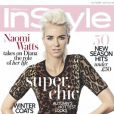 Naomi Watts, rebelle et punk en couverture du In Style UK.