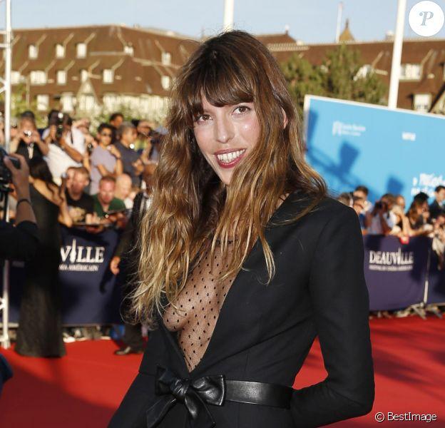 Lou Doillon lors de la cérémonie d'ouverture du 39e Festival du cinéma américain de Deauville, le 30 août 2013