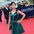 Linh-Dan Pham lors de la cérémonie d'ouverture du 39e Festival du cinéma américain de Deauville, le 30 août 2013