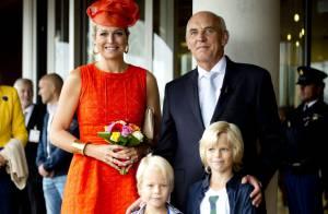 Reine Maxima : Rentrée tape-à-l'oeil à l'Université de Wageningen !