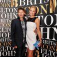 James Blunt et Sofia Wellesley - Remise du Brits Icon Award à Elton John, au London Palladium à Londres, le 2 septembre 2013.