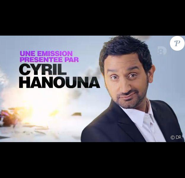 Cyril Hanouna présente Touche pas à mon poste du lundi au vendredi à 18h30 sur D8.
