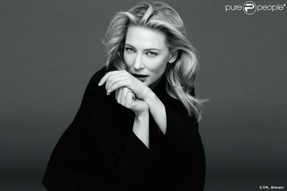 Cate Blanchett, égérie Armani pour le parfum Sí