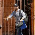 Jack Osbourne quitte les répétitions de Dancing with the stars, à Los Angeles, le 5 septembre 2013.