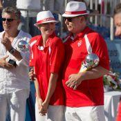 Charlene et Albert de Monaco, fiers amoureux, triomphent aux Masters de pétanque