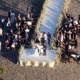 """Exclusif - L'actrice Kate Bosworth se marie avec Michael Polish lors d'une cérémonie au """"Ranch at Rock Creek"""", à Philipsburg, le 31 août 2013."""