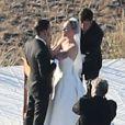 """Exclusif - Kate Bosworth se marie avec Michael Polish lors d'une belle cérémonie au """"Ranch at Rock Creek"""", à Philipsburg, le 31 août 2013."""
