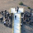 """Exclusif - Kate Bosworth se marie avec Michael Polish lors d'une cérémonie au """"Ranch at Rock Creek"""", à Philipsburg, le 31 août 2013."""