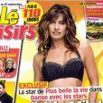 Laetitia Milot pour Danse avec les stars 4 en couverture de Télé-Loisirs