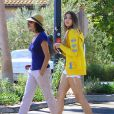 Exclusif - Teri Hatcher avec sa fille Emerson à Los Angeles, le 4 septembre 2013.