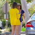 Exclusif - Teri Hatcher en compagnie de sa fille Emerson à Los Angeles, le 4 septembre 2013.