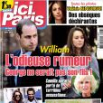 Magazine Ici Paris du 11 septembre 2013.