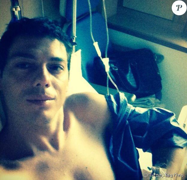 Taïg Kris a été opéré des ligaments croisés du genou droit le 3 septembre dernier. Le champion du monde de roller a partagé les détails de son séjour à l'hôpital avec ses fans.
