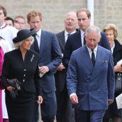 Obsèques Hugh van Cutsem : Le prince Charles abattu, épaulé par William et Harry