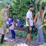 Alicia Keys entourée des hommes de sa vie sous le soleil du Brésil