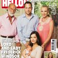 Lord Freddie Windsor, entouré de ses parents le prince et la princesse Michael de Kent, et son épouse Winkleman ont présenté leur bébé, Maud, dans le magazine  Hello!  du 16 septembre 2013, un mois et un jour après sa naissance à Los Angeles.