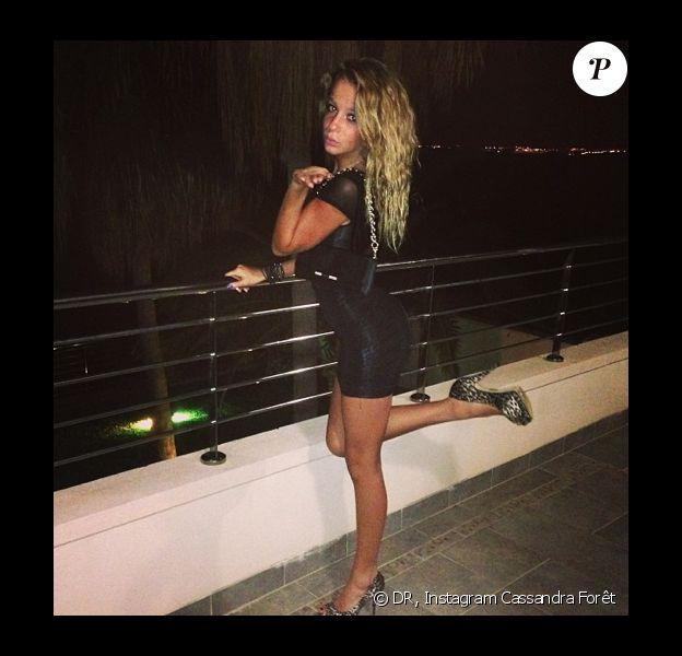 Cassandra Foret prend la pose sur Instagram
