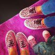 Cassandra Foret, Jade Foret et la petite Liva sur Instagram