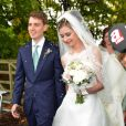 Euan Blair et Suzanne Ashman se marient à Wooten Underwood, le 14 septembre 2013.