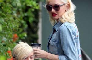 Gwen Stefani, enceinte : Maman lookée avec Kingston, elle camoufle son baby bump
