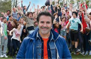 José Garcia est ''Fonzy'', papa poule hilarant et débordé de 533 enfants !