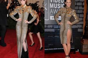 Coco Rocha vs Katy Perry : Qui porte le mieux total look léopard ?