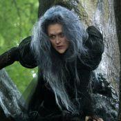 Meryl Streep métamorphosée en affreuse sorcière pour ''Into the Woods''