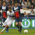 Thiago Motta lors du match de football PSG - Toulouse au Parc des princes, le 28 septembre 2013