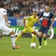 Jérémy Menez lors du match de football PSG - Toulouse au Parc des princes, le 28 septembre 2013