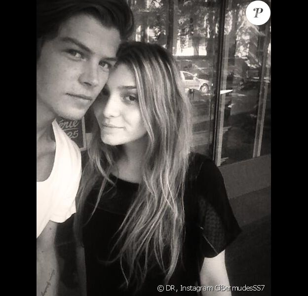 Clara et Gautier, après leur sortie de Secret Story 7 sur TF1.