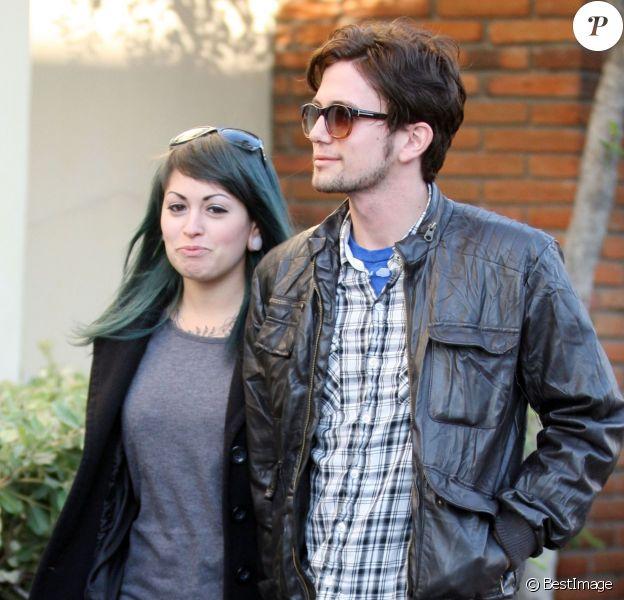 Jackson Rathbone et Sheila Hafsadi à West Hollywood, le 21 novembre 2011.