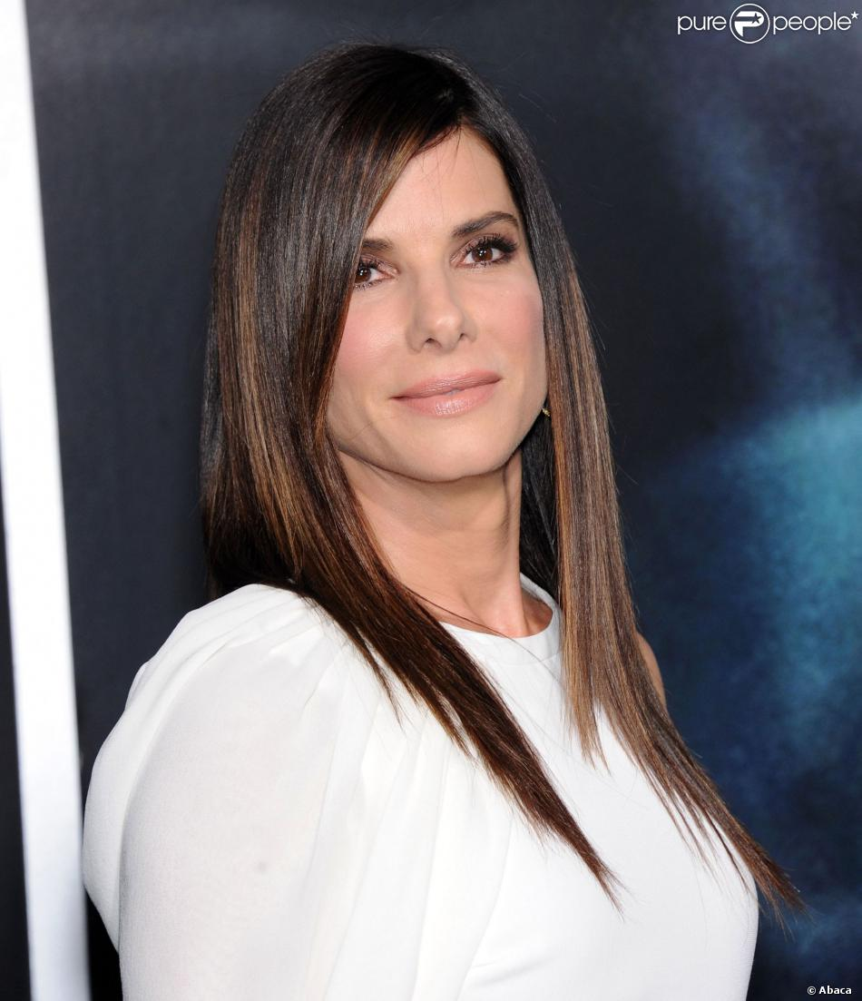 sandra bullock lors de la premi re de gravity new york le 1er octobre 2013. Black Bedroom Furniture Sets. Home Design Ideas