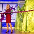 La reine Maxima des Pays-Bas lançant la campagne Pensioen3daagse à Utrecht le 1er octobre 2013