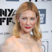 Cate Blanchett : Nude et dentelle pour un look près du corps et sensuel