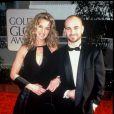 Brooke Shields et Andre Agassi à la soirée des Golden Globes en 1997