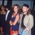 Brooke Shields et Andre Agassi lors d'une soirée le 19 septembre 1995