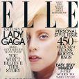 Lady Gaga photographiée par Ruth Hogben pour le magazine Elle d'octobre 2013.