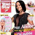 Alizée en couverture de Télé Star