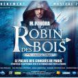 M. Pokora tient le premier rôle de Robin des bois, au Palais des Congrès à Paris.