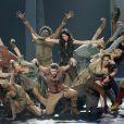 """Exclu - Premier jour du spectacle musical """"Robin des Bois, Ne renoncez jamais"""" au Palais des Congrès à Paris, le 26 Septembre 2013."""