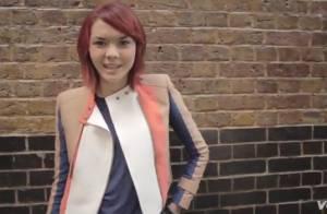 Sophie-Tith : Les cheveux rouges, sexy et rock à Londres pour son nouveau clip