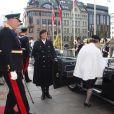 Le roi Harald V de Norvège, avec la reine Sonja et le prince héritier Haakon, procédait le 9 octobre 2013 à Oslo à l'inauguration du Parlement, qui dispose depuis la veille d'un nouveau président.