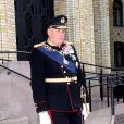 Le roi Harald V de Norvège procédait le 9 octobre 2013 à Oslo à l'inauguration du Parlement, qui dispose depuis la veille d'un nouveau président.