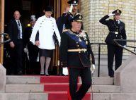 Harald V, Sonja et Haakon de Norvège : Rentrée du Parlement en petit comité...