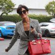 Kris Jenner et Bruce Jenner, qui viennent d'annoncer leur separation, arrivent dans des voitures séparées pour se rendre à une réunion à Woodland Hills, le 9 octobre 2013.